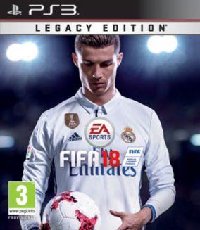 Copertina del gioco FIFA 18 per PlayStation 3