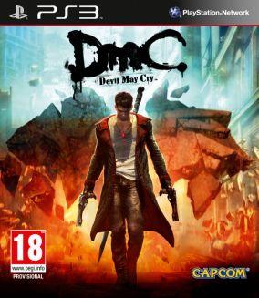 Copertina del gioco DmC Devil May Cry per PlayStation 3