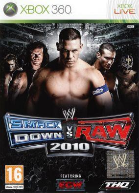 Copertina del gioco WWE SmackDown vs. RAW 2010 per Xbox 360