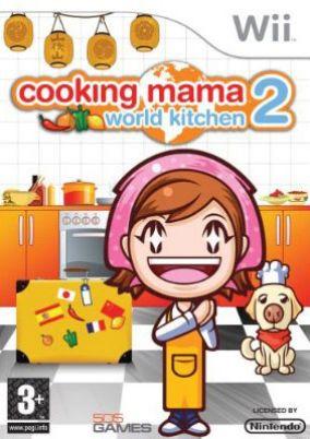Immagine della copertina del gioco Cooking Mama 2: World Kitchen per Nintendo Wii