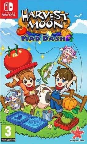 Copertina del gioco Harvest Moon: Mad Dash per Nintendo Switch