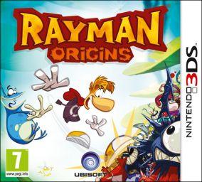 Immagine della copertina del gioco Rayman Origins per Nintendo 3DS