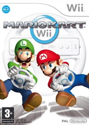 Immagine della copertina del gioco Mario Kart per Nintendo Wii
