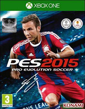 Immagine della copertina del gioco Pro Evolution Soccer 2015 per Xbox One