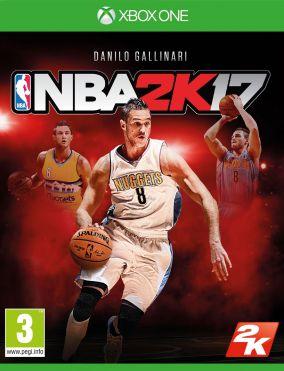 Immagine della copertina del gioco NBA 2K17 per Xbox One