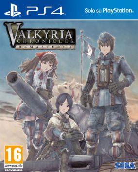 Immagine della copertina del gioco Valkyria Chronicles Remastered per PlayStation 4