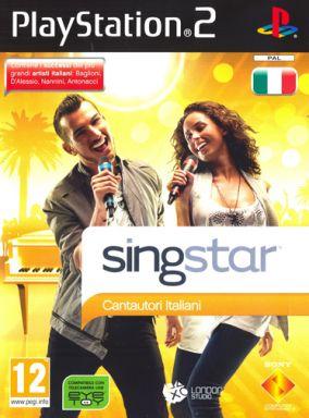Immagine della copertina del gioco Singstar Cantautori italiani per PlayStation 2