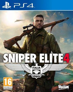 Immagine della copertina del gioco Sniper Elite 4 per Playstation 4