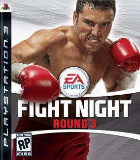 Copertina del gioco Fight Night Round 3 per PlayStation 3