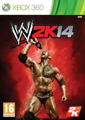 Copertina del gioco WWE 2K14 per Xbox 360