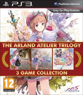 Copertina del gioco The Arland Atelier Trilogy per PlayStation 3