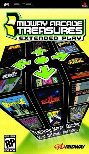 Immagine della copertina del gioco Midway Arcade Treasures: Extended Play per PlayStation PSP