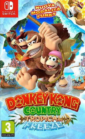 Copertina del gioco Donkey Kong Country: Tropical Freeze per Nintendo Switch