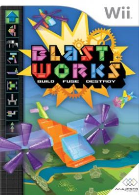 Immagine della copertina del gioco Blast Works: Build, Fuse & Destroy per Nintendo Wii