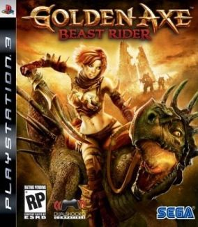 Copertina del gioco Golden Axe: Beast Rider per PlayStation 3