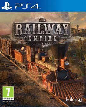 Copertina del gioco Railway Empire per Playstation 4