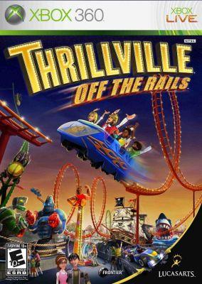 Copertina del gioco Thrillville: Fuori dai Binari per Xbox 360