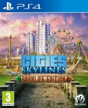 Copertina del gioco Cities: Skyline - Parklife Edition per PlayStation 4