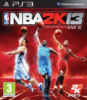 Immagine della copertina del gioco NBA 2K13 per PlayStation 3