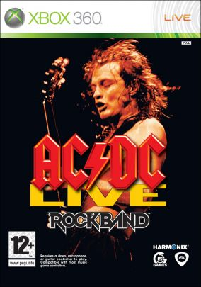 Copertina del gioco Rock Band AC-DC Song Pack per Xbox 360