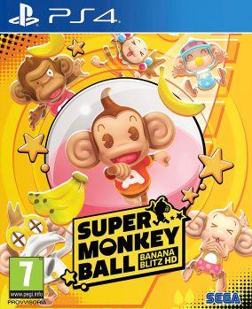 Copertina del gioco Super Monkey Ball Banana Mania per PlayStation 4