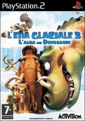 Copertina del gioco L'Era Glaciale 3: L'alba dei Dinosauri per PlayStation 2