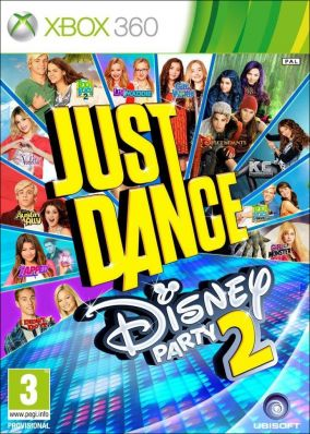 Copertina del gioco Just Dance: Disney Party 2 per Xbox 360