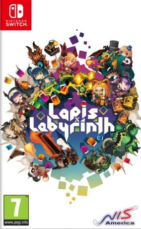 Copertina del gioco Lapis x Labyrinth x Limited Edition XL per Nintendo Switch
