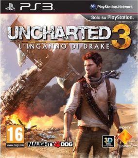 Immagine della copertina del gioco Uncharted 3: L'inganno di Drake per PlayStation 3