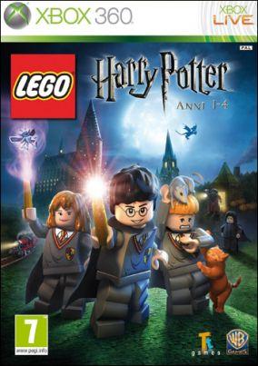 Copertina del gioco LEGO Harry Potter: Anni 1-4 per Xbox 360