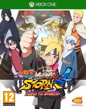 Copertina del gioco Naruto Shippuden Ultimate Ninja Storm 4: Road to Boruto  per Xbox One
