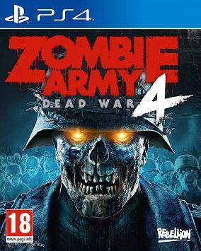 Copertina del gioco Zombie Army 4: Dead War per PlayStation 4