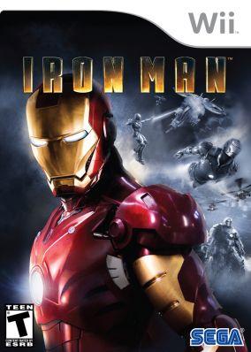 Immagine della copertina del gioco Iron man per Nintendo Wii