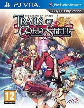 Copertina del gioco The Legend of Heroes: Trails of Cold Steel per PSVITA
