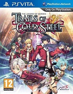 Copertina del gioco The Legend of Heroes: Trails of Cold Steel per PSVITA