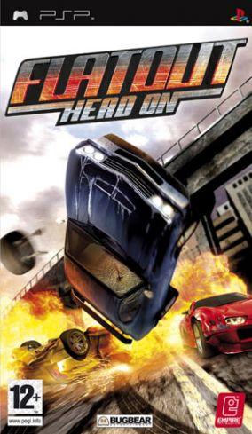 Immagine della copertina del gioco Flat Out: Head On per PlayStation PSP