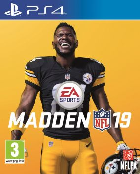 Copertina del gioco Madden NFL 19 per PlayStation 4