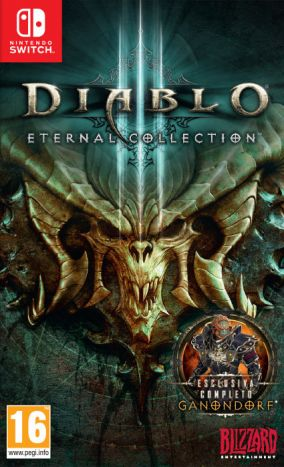 Copertina del gioco Diablo III: Eternal Collection per Nintendo Switch