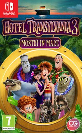 Immagine della copertina del gioco Hotel Transylvania 3: Mostri in mare per Nintendo Switch