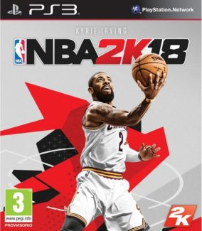 Immagine della copertina del gioco NBA 2K18 per PlayStation 3