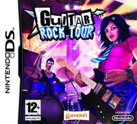 Immagine della copertina del gioco Guitar Rock Tour per Nintendo DS