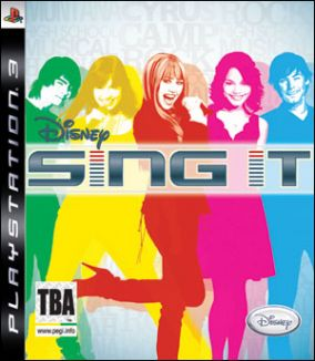 Copertina del gioco Disney Sing it per PlayStation 3