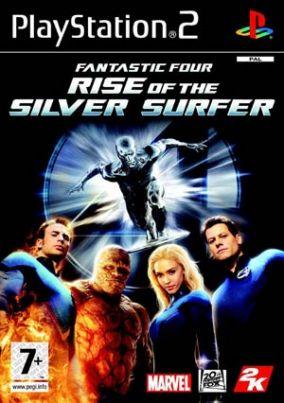 Immagine della copertina del gioco I Fantastici 4 The Rise of Silver Surfer per Playstation 2