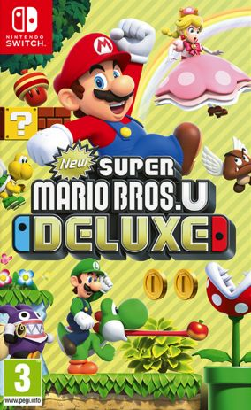 Copertina del gioco New Super Mario Bros. U Deluxe per Nintendo Switch