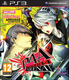 Copertina del gioco Persona 4: Arena per PlayStation 3