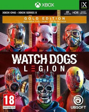 Copertina del gioco Watch Dogs Legion per Xbox Series X