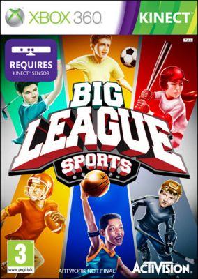 Copertina del gioco Big League Sports per Xbox 360