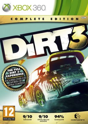 Copertina del gioco DiRT 3: Complete Edition per Xbox 360