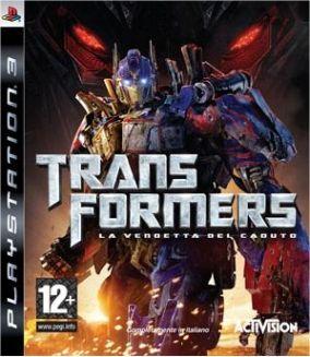 Immagine della copertina del gioco Transformers: La Vendetta del Caduto per PlayStation 3