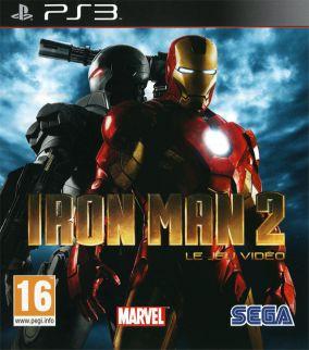 Copertina del gioco Iron Man 2 per PlayStation 3